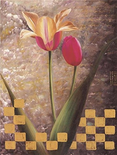 'Red Tulips' Oil Painting, 30×40 Inch / 76×101 Cm ,printed On High Quality Polyster Canvas ,this Best Price Art Decorative Canvas Prints Is Perfectly …