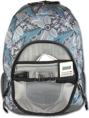 DANIEL RAY Schulrucksack FANCY Laptop Notebook Rucksack Schulranzen Schultasche Grau
