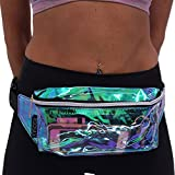 Stylish Festival Hologram Neon Fanny Pack For Women By ROOSAX
