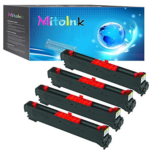 (MitoInk Compatible 7400 Drum Unit for use in Xerox Phaser 7400 7400dn 7400n Series Printers, (1 Black,1 Cyan,1 Magenta,1 Yellow)-4 Pack)
