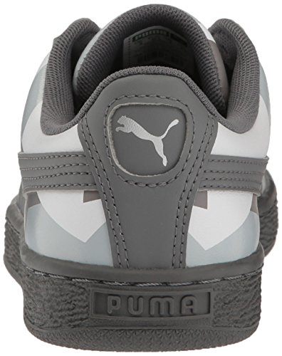 Da puma Fashion Tranquillo Uomo Shade 5 Us Graphic Cestino Sneaker M White 4 Classic quarry THxdzqpw