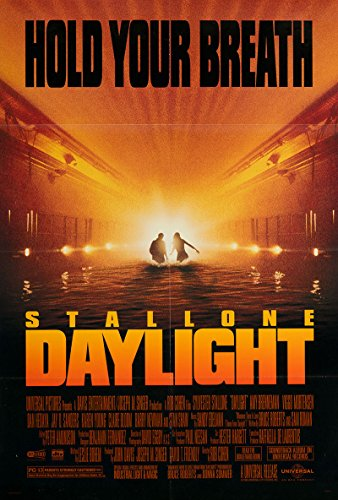 Daylight 1996 Authentic Original Movie Poster Near Mint, Very Fine Sylvester Stallone Thriller U.S.