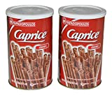 Papadopoulos Caprice Wafer Rolls 8.8oz pack of 2