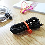 SMART&COOL Reusable Silicone Magnetic Cable Ties