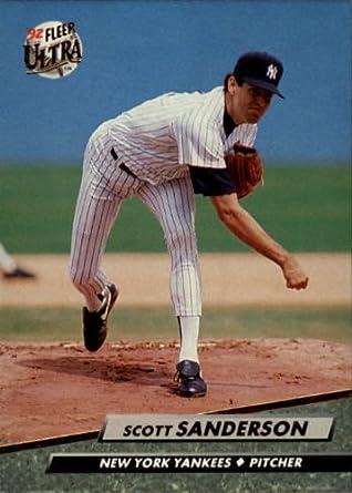 Amazoncom 1992 Ultra Baseball Card 414 Scott Sanderson