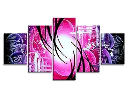 s purple Abstract painting picture Artwork Wall Art Decor for Living