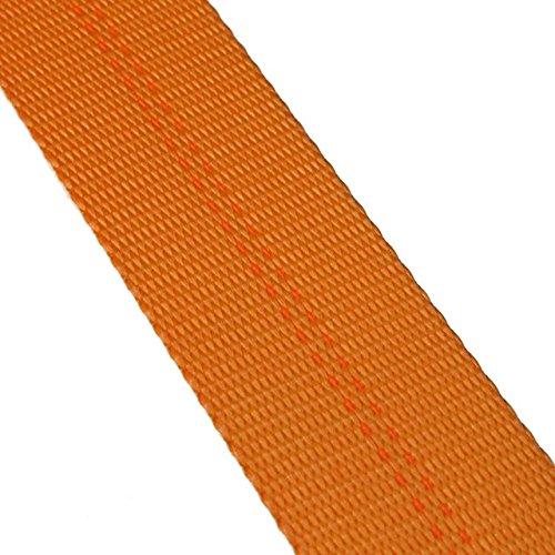 2'' x 300' 12K Polyester Cargo Webbing - Orange