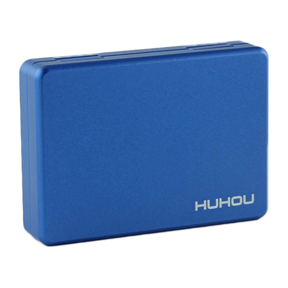 Zigarettenetui passend zu Holder DrafTor E Zigarette Tasche blau CASE f/ür IQOS HEET mit Premium Aluminiumlegierung