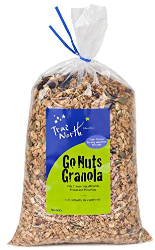 Bulk Go Nuts Granola with Pistachios, Almonds, Pecans and Dried Cranberries, All Natural and non GMO by True North Granola (3 LB)