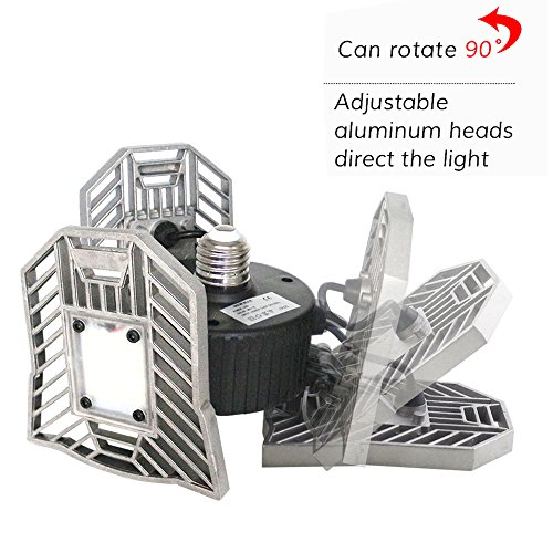Deformable Lamp, Indoor Light 6000LM, High Intensity