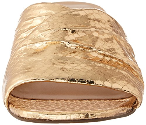 Gold Sandal Frisco Slide Women's Warm Sarto Franco qw7zT7