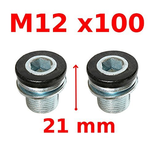 Clamping Screw M12x100 Box Cranks Octalink ISIS Bosch Bicycle MTB Road crankset bolt 12MM pedalier crankshaft shaft arm pedal bike cycle vintage mtb electric pocket - Arm Crank Torque