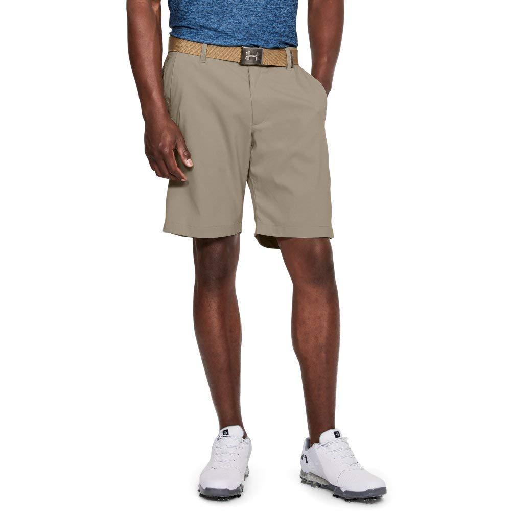 Under Armour Men's Showdown Golf Shorts, City Khaki (299)/City Khaki, 30 by Under Armour