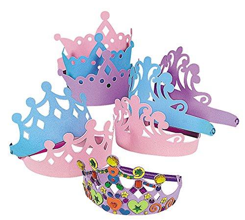 (Fun Express Foam Princess Tiaras (1 Dozen))