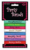 Girl's Night Out Bachelorette Party Package of 8 Silicon Wrist Bands