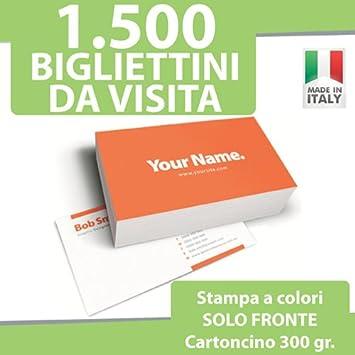 1500 Visitenkarten Karten Druck Nur Vor A Individuelle