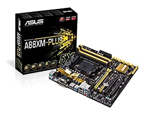 ASUS Micro ATX DDR3 2400 Motherboards A88XM-PLUS/CSM