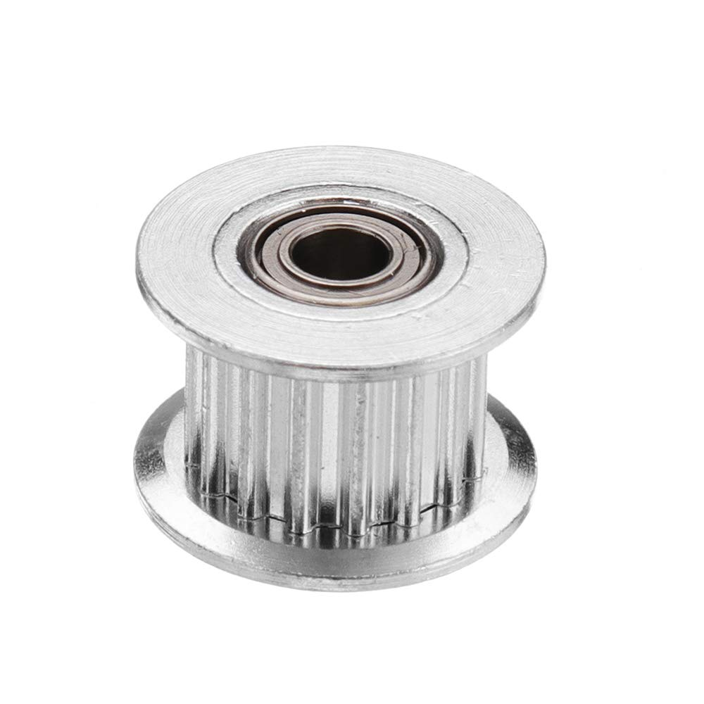 HITSAN INCORPORATION 10pcs 16T GT2 Aluminum Timing Pulley with Tooth for DIY 3D Printer