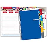 """Dated Middle School or High School Student Planner for Academic Year 2017-2018 (Matrix Style - 7""""x9"""")"""