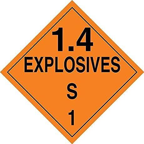 1 4 EXPLOSIVES S
