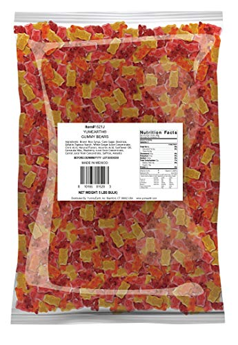 YumEarth Gummy Bears, Assorted Flavors, 5 Pound Bag -