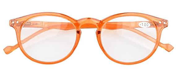Eyekepper 5-Pack gafas de sol de lectura Ovalo Redondo bisagras de resorte +2.0