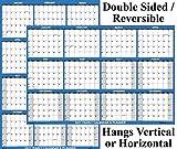 """32"""" x 48"""" SwiftGlimpse 2021 Wall Calendar"""