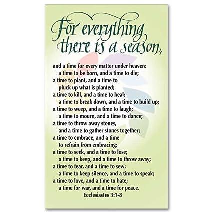 bible verse about seasons