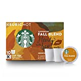 Fall Blend Medium Roast Single Cup Coffee for Keurig Brewers, 6 Boxes of 10 (60 Total K-Cup Pods)