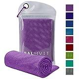 Best Cooling Scarves - Balhvit Cooling Towel, ZAMAT Cool Towel for Instant Review