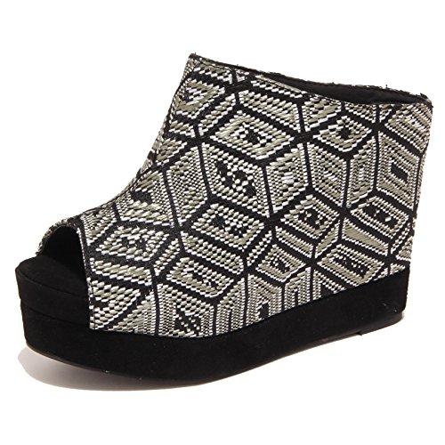 5838o Campbell Woman Nero Virgo Jeffrey Scarpe Donna Sandalo Shoe qU14qTBxaw