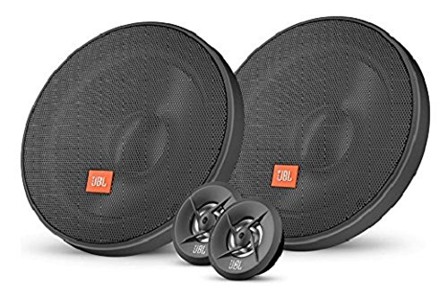 JBL Stage 502 In-Car 5.25-Inch (13 cm) 2-Way Coaxial Stereo Speakers - Black (Pack of Two) Harman International Industries LTD.