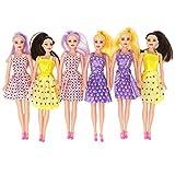 BOLEY Fashionista Dolls - 6pc