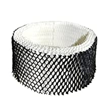 HQRP Wick Humidifier Filter for Sunbeam SCM1100, SCM1701, SCM1702 Humidifiers; Cool Mist Filter A Replacement + HQRP Coaster