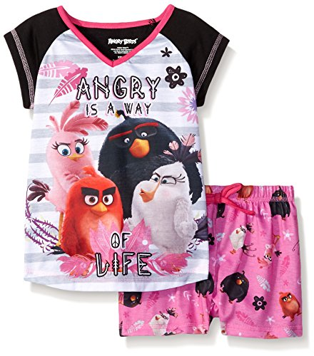 Angry Birds Girls Piece Short