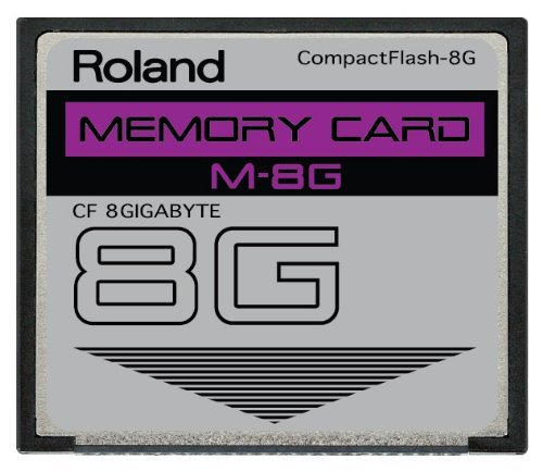 actFlash CF Memory Card for V-Synth, Fantom X6, X7 and More ()