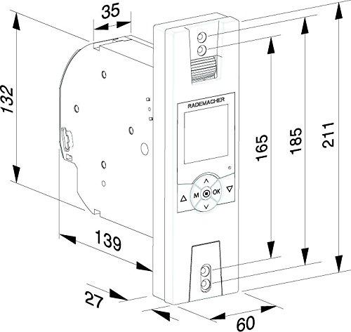 Rademacher Rollotron Comfort Duofern 1800 Inkl Handsender 9491 Bis