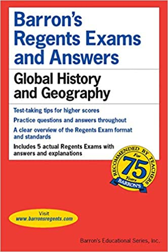 Global History And Geography Barron S Regents