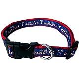 MLB TEXAS RANGERS Dog Collar, Medium