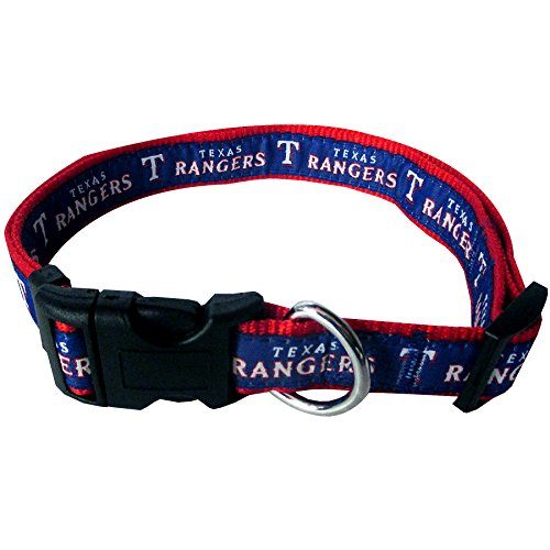 MLB TEXAS RANGERS Dog Collar, Large