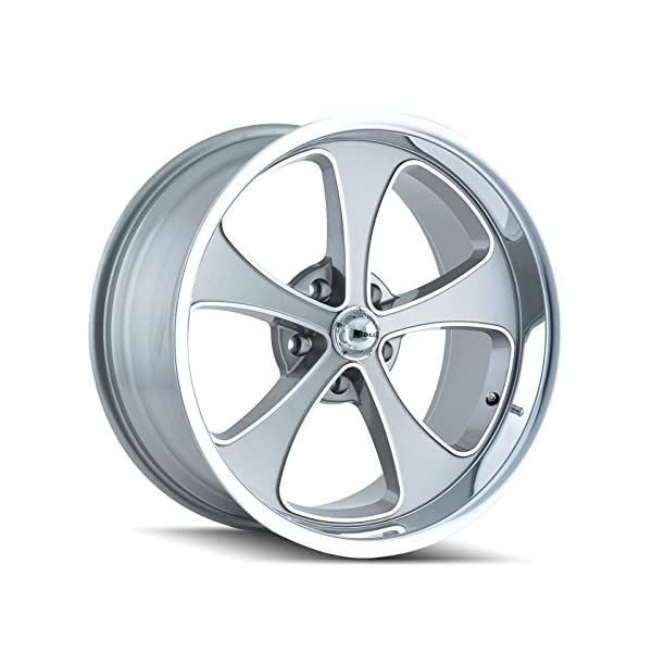 Ridler-645-2173GP-Style-Grey-Wheel-with-Machined-FacePolished-Lip-20x105x127mm
