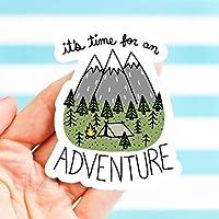 Adventure Sticker, Hiking, Helmet Vinyl Sticker, Bike Stickers, Nature, Bumper Stickers, Camping Sticker, Explore, Travel Sticker, OutDoorsey Sticker