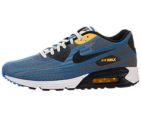 Cheap Nike Men's Air Max Lunar90 Jcrd Light Ash Grey/Blk/Blk/Pht Bl Running Shoe 12 Men US