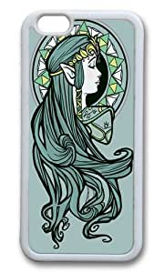 Apple Iphone 6 Case,WENJORS Adorable Zelda Nouveau Soft Case Protective Shell Cell Phone Cover For Apple Iphone 6 (4.7 Inch) - TPU White