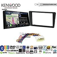 Volunteer Audio Kenwood Excelon DNX994S Double Din Radio Install Kit with GPS Navigation Apple CarPlay Android Auto Fits 2001-2005 Honda Civic