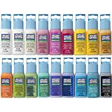 Gallery Glass PROMOGGII Window Color Paint Set (2-ounce), #2 Best Selling Colors (18 colors)