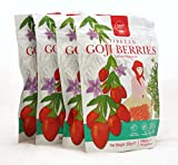 Zen Valley Big Goji Berries 1KG, 250gx4 packs, Free from Preservative&Sulfit