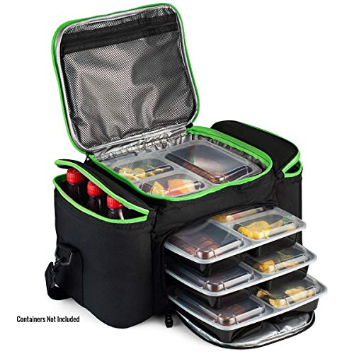 (Cooler Bag Insulated By Outdoorwares Large Capacity Bag Durable, Insulated Tote To Keep Foods And Drinks In The Right Temperature - Good For Travel, Picnic, Beach Hiking, Camping)