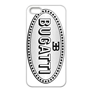 Bugatti Black Bess supercar logo Phone case for iPhone 5s
