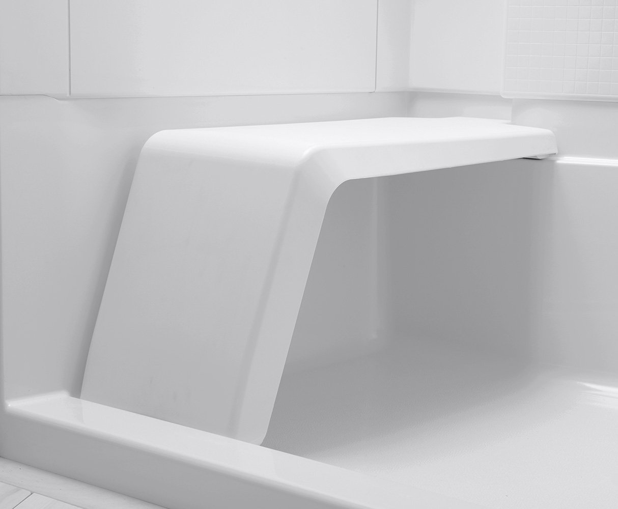 Sterling Plumbing 72280106-0 Accord Seated 36-Inch x 48-Inch x 74 ...